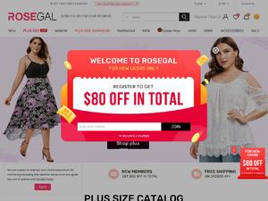 Rosegal кэшбэк 9.00% и промо коды скидки